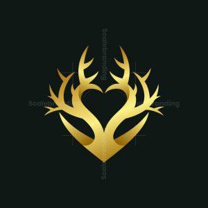 Heart Deer Logo