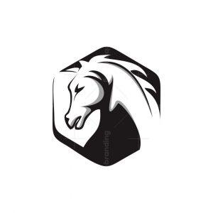 Horse Hexagon Logo