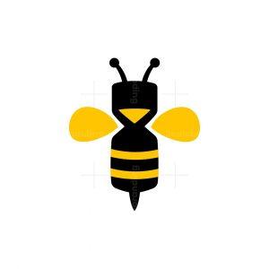 Hourglass Bee Logo