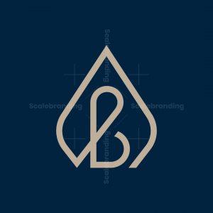 Initials Ab Luxury Logo