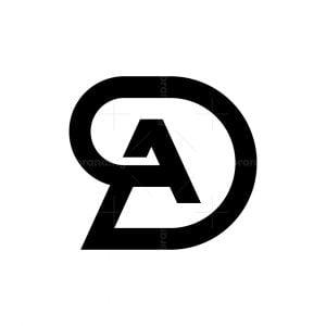 Initials Da Or Ad Logo