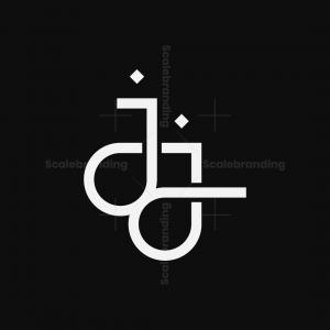 Letter Jj Love Logo