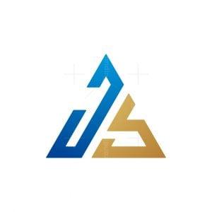 Js Letter Monogram Logo