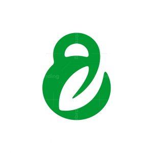 Kettlebell Leaf Logo