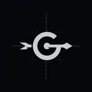 Letter G Target Logo