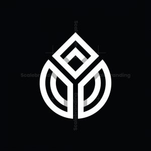 Letter Y Droplets Logo