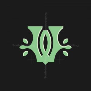 Leaves W Logo