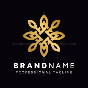 Golden Leaves Logo