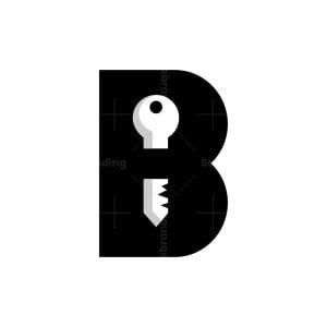 Letter B Key Logo
