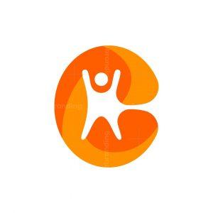 Letter C People Logo
