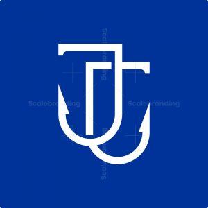Letter Jj Hook Logo