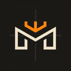 Letter M Crown Logo