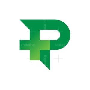 Letter P Medical Logo