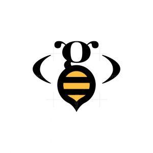 Letter G Bee Logo