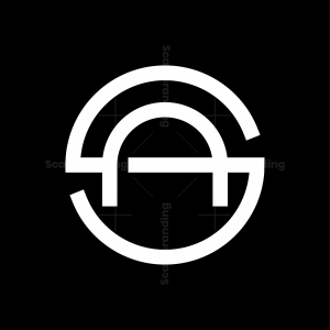 Letter A S Logo