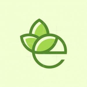 Lotus Letter E Logo