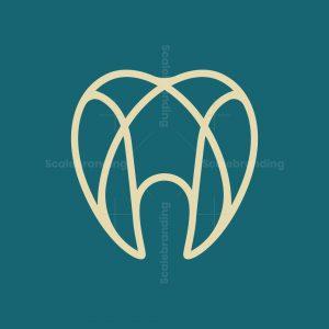 Luxury Letter A Dental Logo