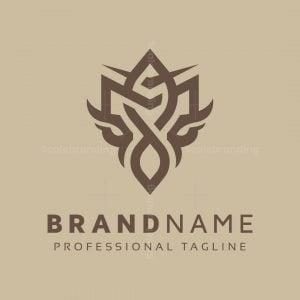 Heraldic M Letter Logo