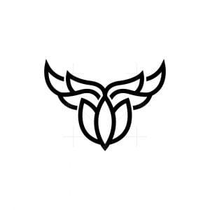 Minimalist Bull Logo