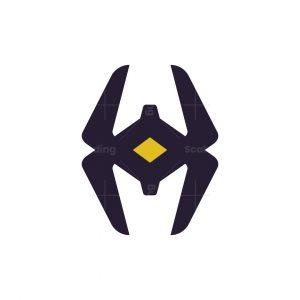 Modern H Spider Logo