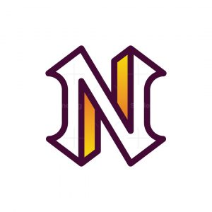 Modern N Logo