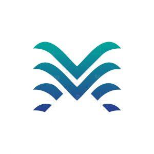 Letter Vm Logo