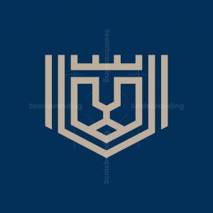 Monoline Lion King Logo