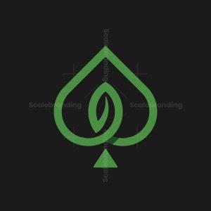 Spade Leaf Logo
