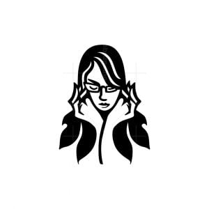 Nerd Woman Logo