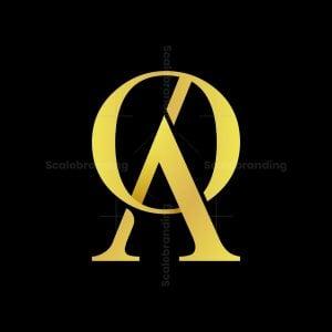 Oa Or Ao Monogram Logo