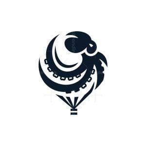 Octopus Balloon Logo