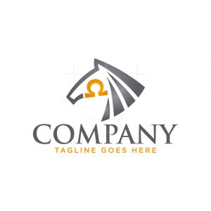 Omega Horse Logo