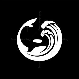 Orca And Wave Logo
