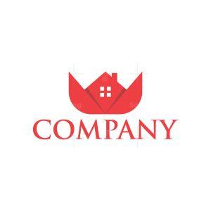 Origami Rose House Logo