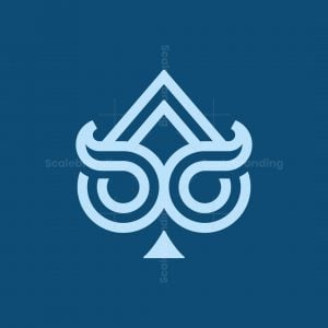 Owl Spade Logo