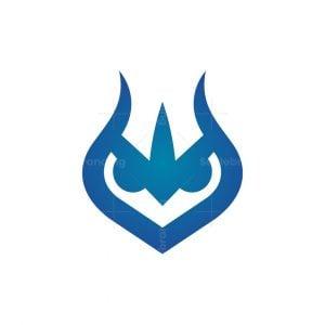 Trident Owl Logo