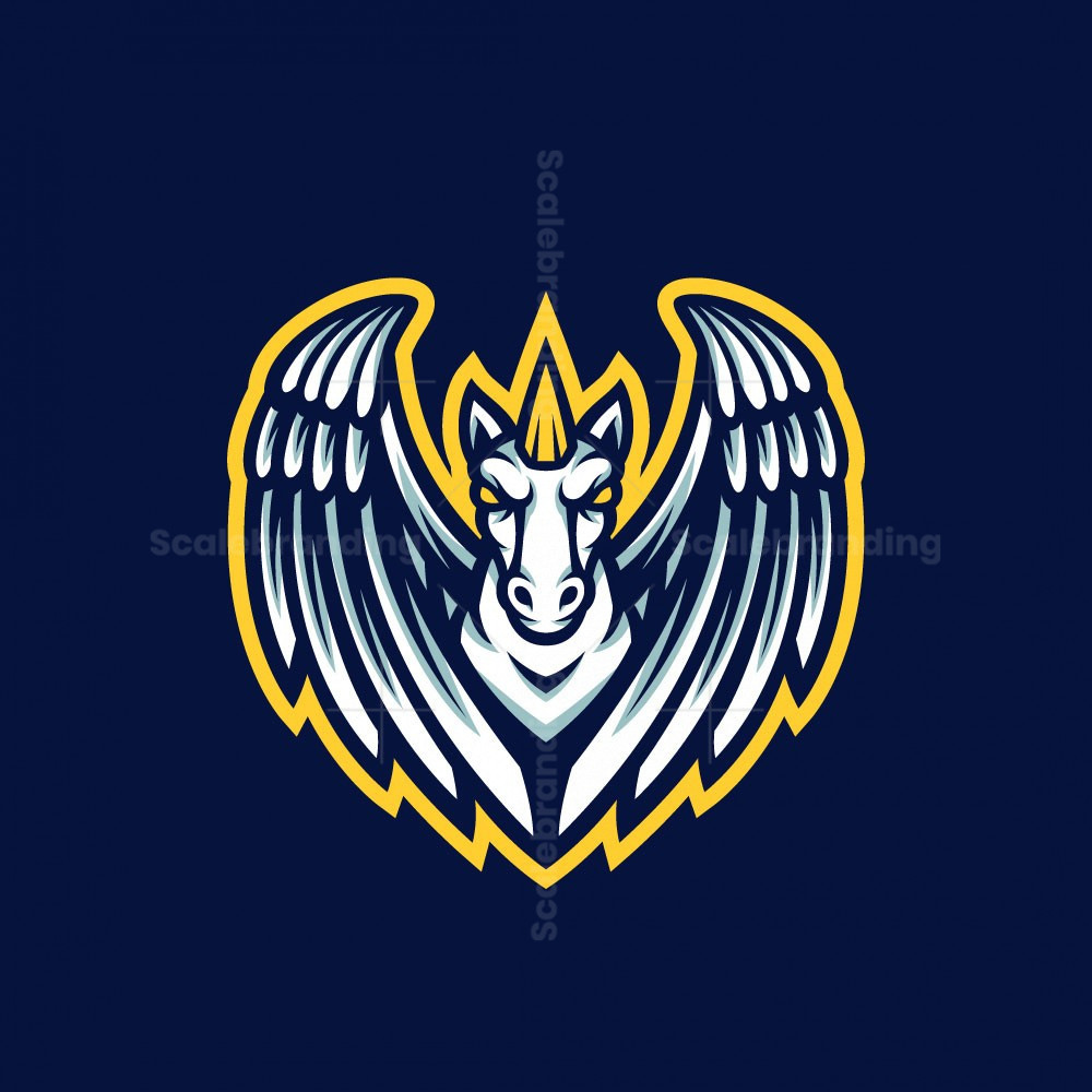 Pegasus Esport Mascot Logo