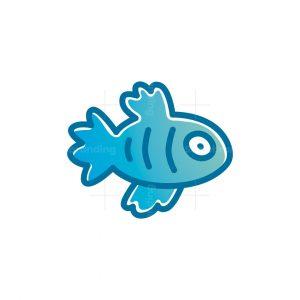 Pet Fish Logo