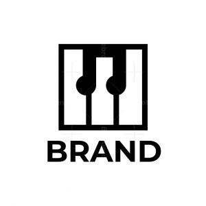 Piano Music Logo