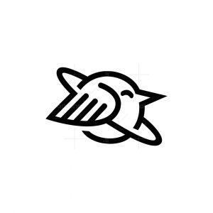 Planet Bird Logo