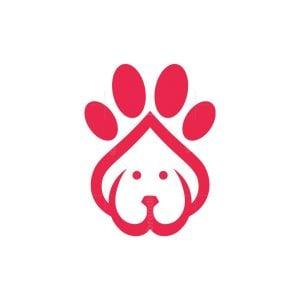 Dog Foot Logo