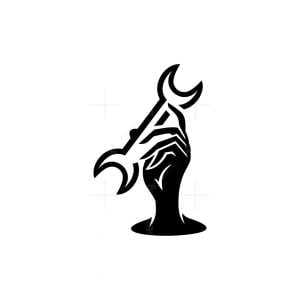 Repair Hand Service Logo