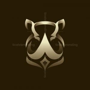 Rhino Head Logo