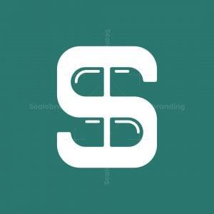Letter S Capsule Logo