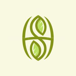 S H Leaf Logo