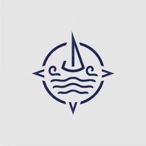 Sailing Compass Logo