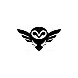 Simple Owl Logo