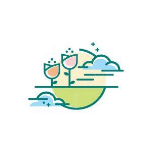 Sky Flower Logo