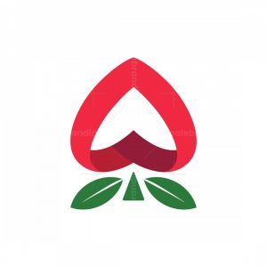 Spade Rose Logo