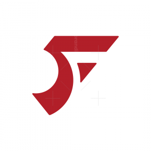 Stylish Letter F Logo